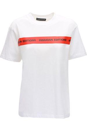Kwaidan Editions | Mujer Camiseta De Algodón Jersey Con Logo Xs