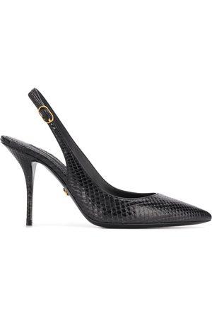 Dolce & Gabbana Zapatos de tacón con tira trasera