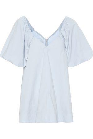 CO Vestido rto en mezcla de algodón