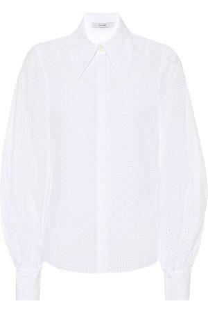 Erdem Camisa Eula de algodón