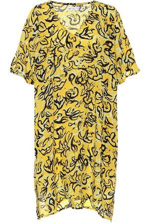Diane von Furstenberg X Onia Hanna caftán floral
