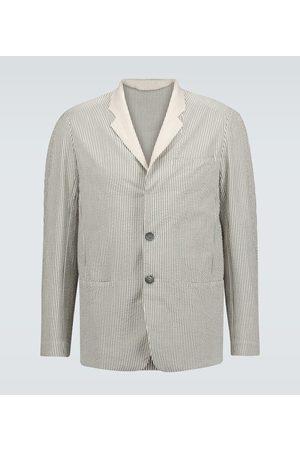Sease Blazer de algodón de rayas