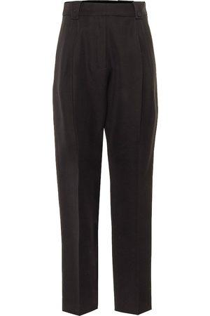 Paco rabanne Pantalones ajustados de lana