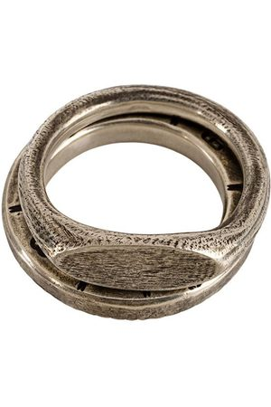 WERKSTATT:MÜNCHEN Pack de anillo en relieve