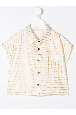 Andorine Camisa corta con estampado de rayas