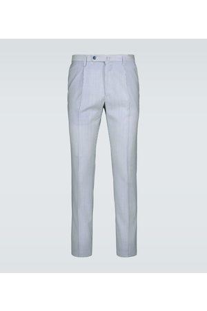 Incotex Hombre Pantalones y Leggings - Pantalones de rayas ajustados