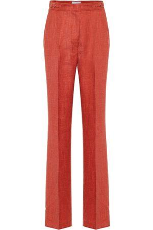 GABRIELA HEARST Pantalones Vesta en mezcla de lana