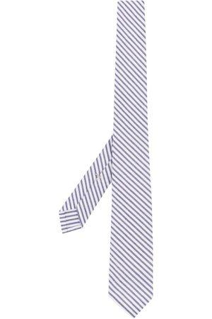 Thom Browne Corbata de tejido seersucker