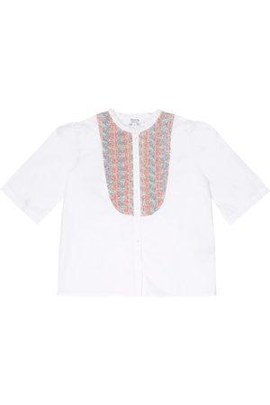 BONPOINT Camisa Nili de popelín de algodón
