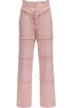 AMBUSH | Mujer Pantalones De Denim Con Cintura Alta 1