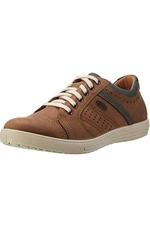 Jomos Ariva, Zapatos de Cordones Brogue para Hombre, Mehrfarbig (nuß/Ozean)