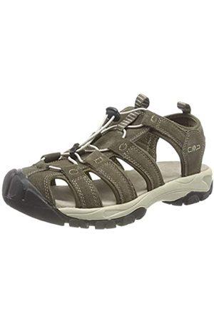 CMP Sahiph Leather Hiking Sandal, Sandalias de Senderismo para Hombre, (Wood P961)
