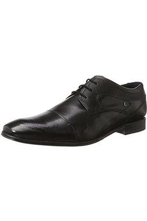 Bugatti 312101121000, Zapatos de Cordones Derby para Hombre, (Schwarz 1000)