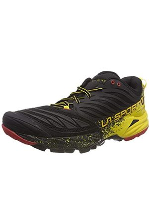 La Sportiva Akasha Trail Running Calzado para Hombre, (Red/Black/Yellow)