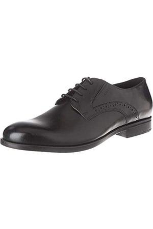 Geox U Domenico A, Zapatos de Cordones Derby para Hombre, (Black C9999)