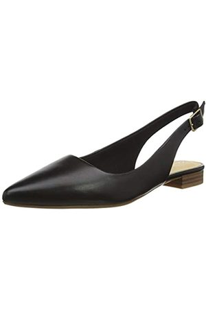 Clarks Laina15 Sling, Mocasines para Mujer, (Black Leather Black Leather)