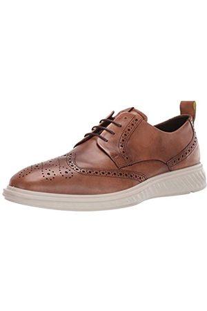 Ecco ST.1HYBRIDLITE, Zapatos de Cordones Brogue para Hombre, (Amber 1112)