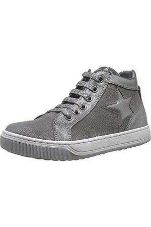 Naturino Clay Star Zip, Zapatillas Altas para Niñas, (Grigio/Acciaio 1b16)
