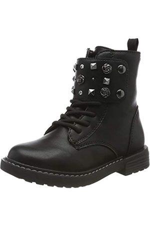 Geox J Eclair Girl C, Botas Militar para Niñas, (Black C9999)