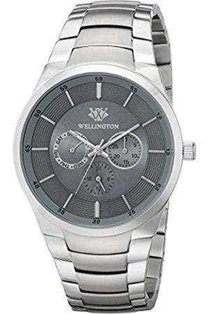 Wellington – Reloj de Hombre de Cuarzo con Esfera Analógica y Plata Pulsera de Acero Inoxidable WN601 – 191