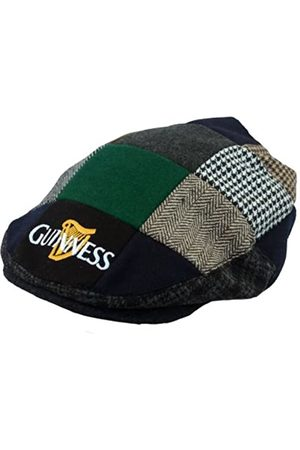 Guinness Official Merchandise Harp Embroidered Flat Cap - Sombrero para hombre