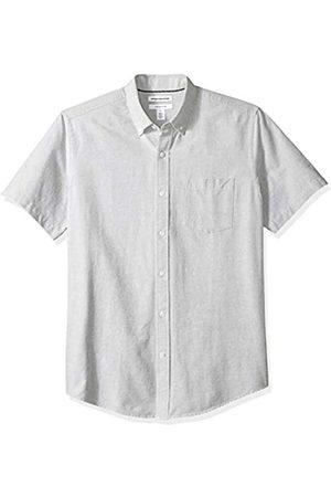 Amazon Essentials – Camisa Oxford de manga corta de corte recto para hombre