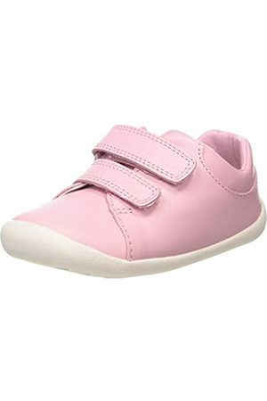 Clarks Roamer Craft T, Zapatillas para Niñas, (Pink Leather Pink Leather)