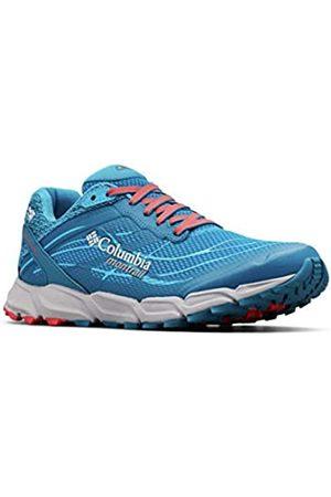 Columbia Caldorado III Outdry, Zapatillas de Running para Asfalto para Mujer, (Deep Ocean, Red 458)
