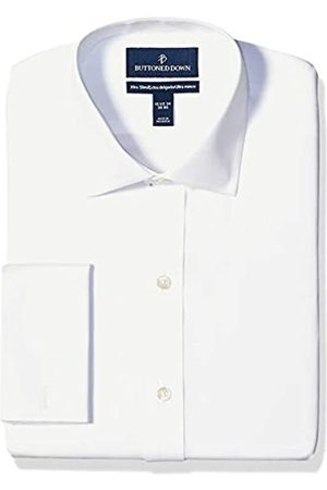 Buttoned Down Xtra-Slim Fit Spread-Collar French Cuff Non-Iron Dress Shirt Shirts