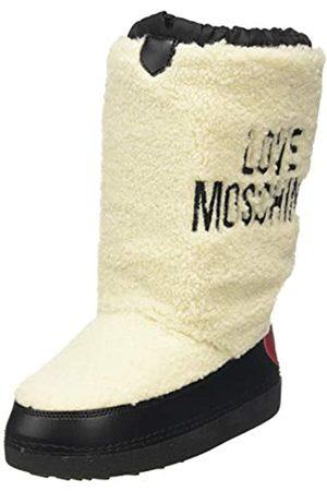 Love Moschino St.ttod. Skiboot Botas de Nieve Mujer, (Bianco 10a)