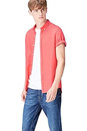 FIND Short Sleeve Linen Camisa