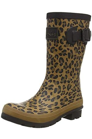 Joules Molly Welly, Botas de Agua para Mujer, (Tan Leopard Tan Leopard)