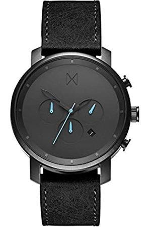 MVMT Reloj Cronógrafo para Hombre de Cuarzo con Correa en Cuero D-MC01-GUBL