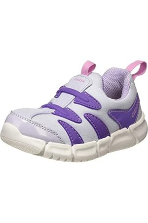 Geox B FLEXYPER Girl C, Zapatillas para Bebés, Purple (Soft Sky C4020)