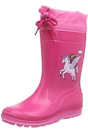 Beck Pferd, Botas de Agua para Niñas, (Pink)