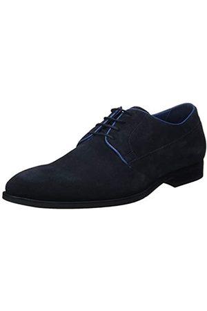 Geox New Life 22, Zapatos de Cordones Derby para Hombre, (Navy)