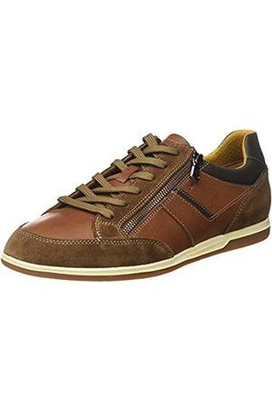 Geox U Renan C, Zapatillas para Hombre, (Cognac/browncotto)