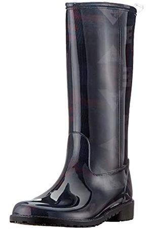 Desigual Shoes Mid Rain Boot, Botas de Agua para Mujer, (Black 2000)