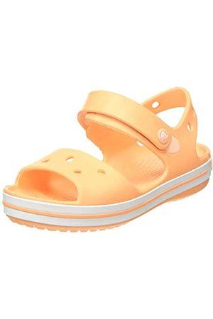 Crocs Crocband Sandal Kids, Sandalia con Pulsera Unisex Niños, (Cantaloupe 801)