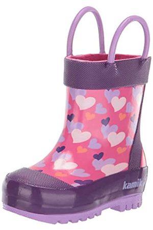 Kamik Lovely, Botas de Agua para Niñas, (Pink Pin)