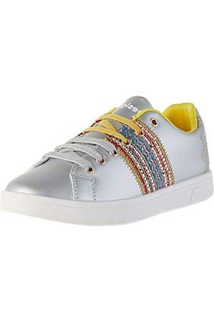 Desigual Shoes Cosmic Exotic Moon, Zapatillas para Mujer, (Silver 2004)