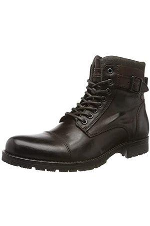 Jack & Jones Jfwalbany Leather, Botas Estilo Motero para Hombre