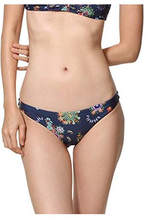 Desigual Swimwear Bottom REM B Woman Blue Braguita de Bikini