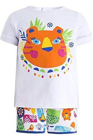 Tuc Tuc Camiseta+Short Punto NIÑA Animal Crew Conjunto de Ropa