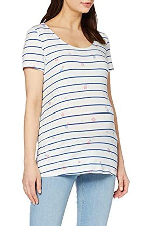 Esprit T-Shirt SS Yd/AOP Camiseta premamá