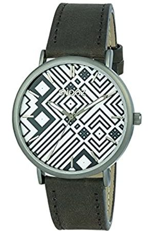 Snooz RelojAnalógicoparaHombredeCuarzoconCorreaenCueroSaa1041-76
