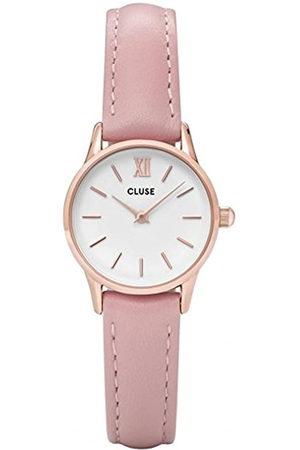 Cluse Reloj Analógico Automático para Mujer con Correa de Cuero – CL50010