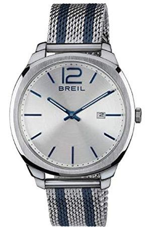 Breil Reloj Hombre Clubs Esfera Plata e Correa in Acero