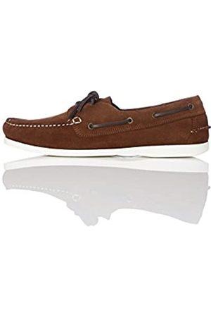 FIND Zapatos Náuticos Hombre, (Dark Brown)