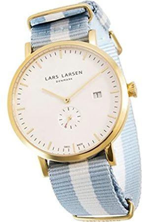 Lars Larsen Reloj analógico para Hombre de Cuarzo con Correa en Tela 131GWCN